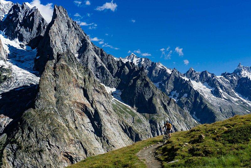 Trail Val Veny