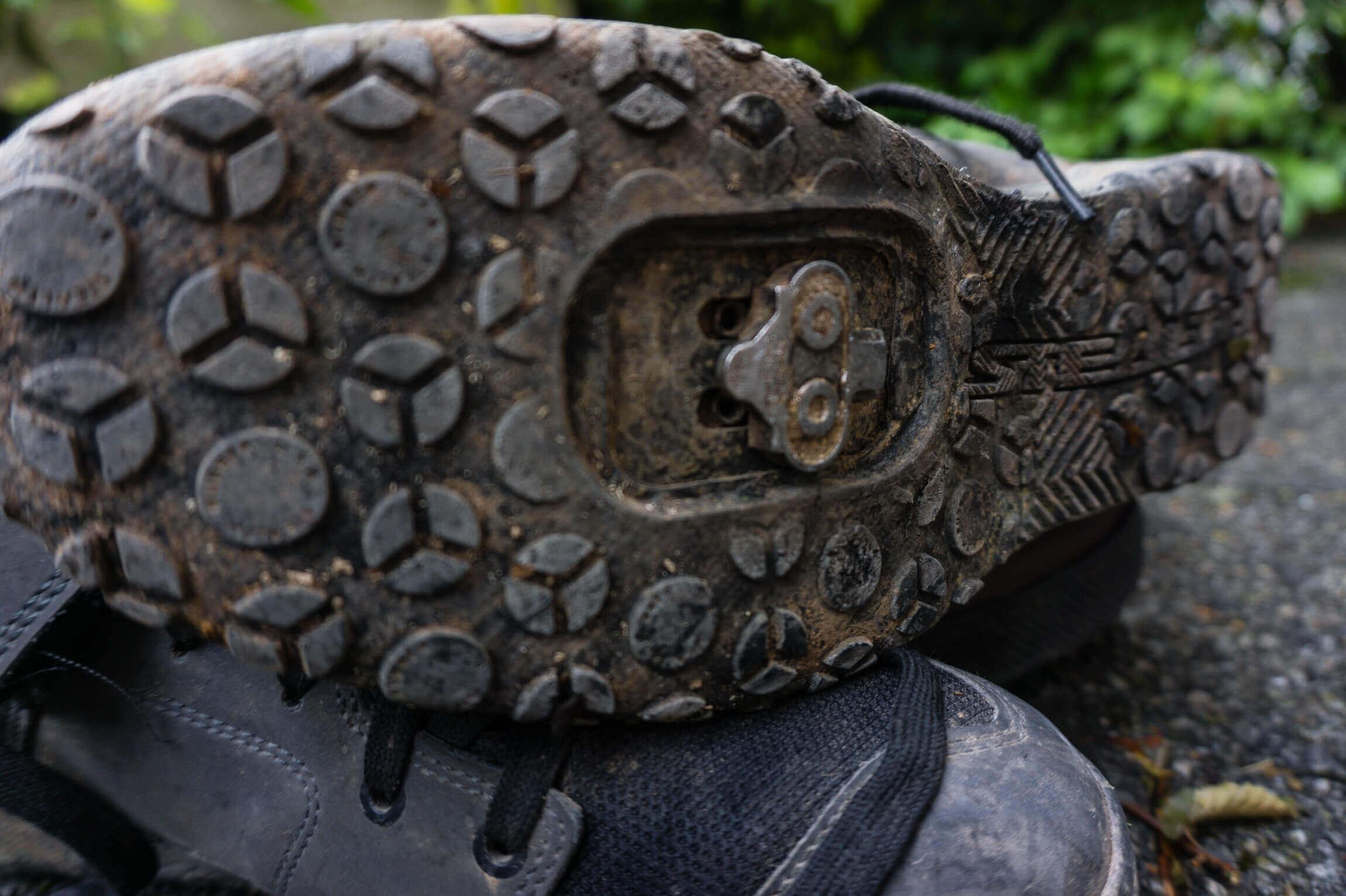 Cleat Sohle am MTB Schuh