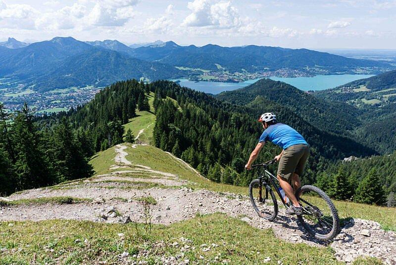 Trail von der Baumgartenschneid