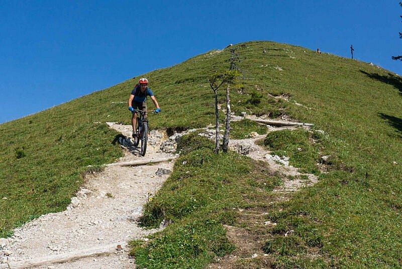 Trail Baumgartenschneid Gipfel