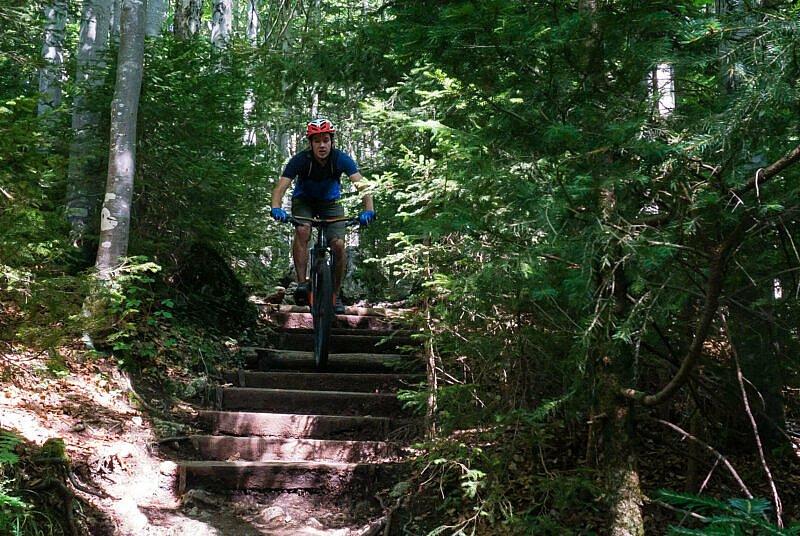 Wald Trail zum Tegernsee