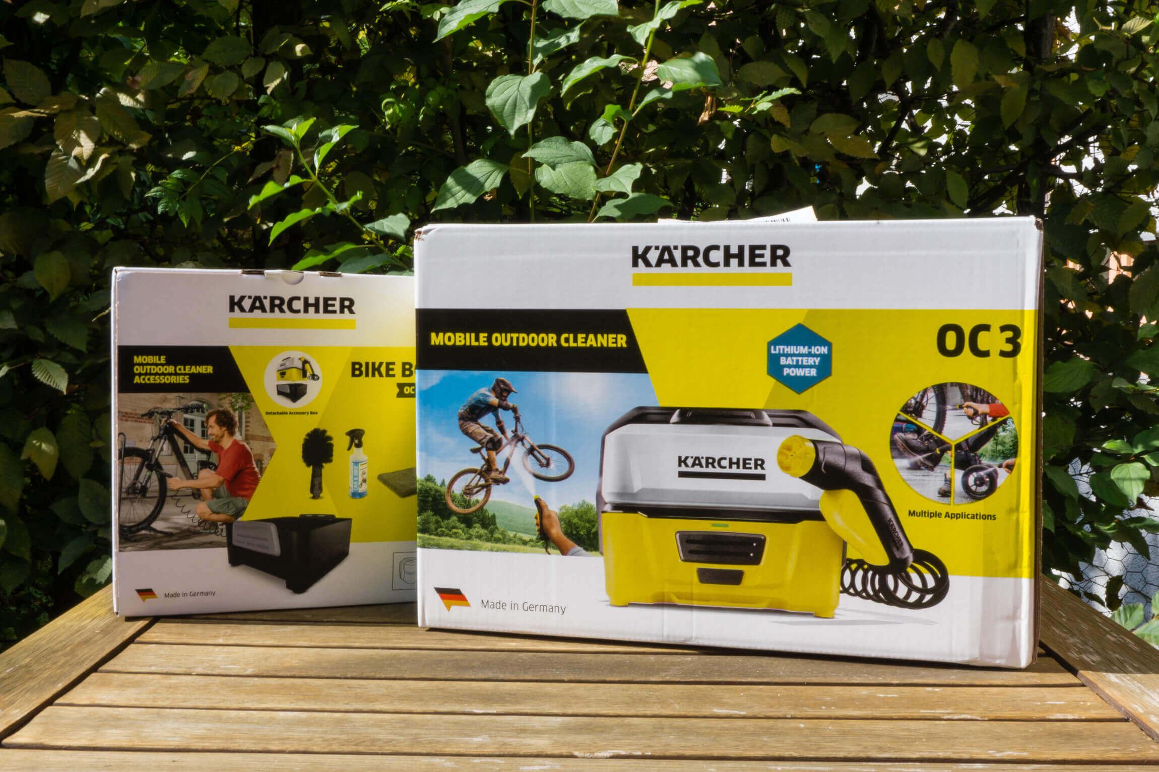 Kärcher Mobile Outdoor Reiniger OC3 Adventure Box für Unterwegs OC 3