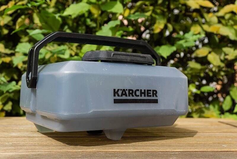 Mobile Outdoor Cleaner Wassertank