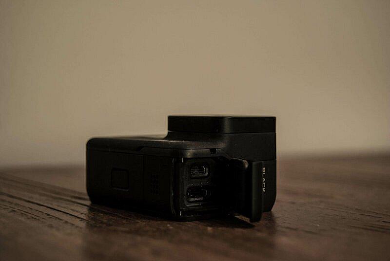 GoPro HERO7 Black Anschluesse