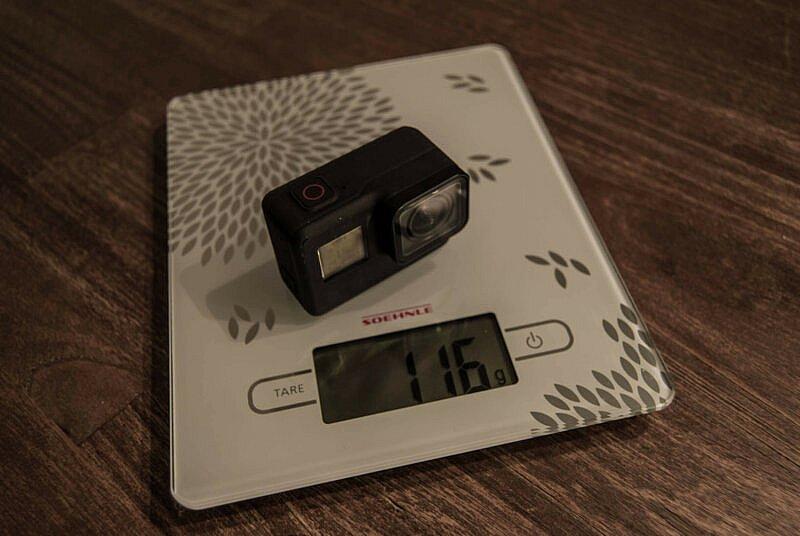 GoPro HERO7 Black Gewicht