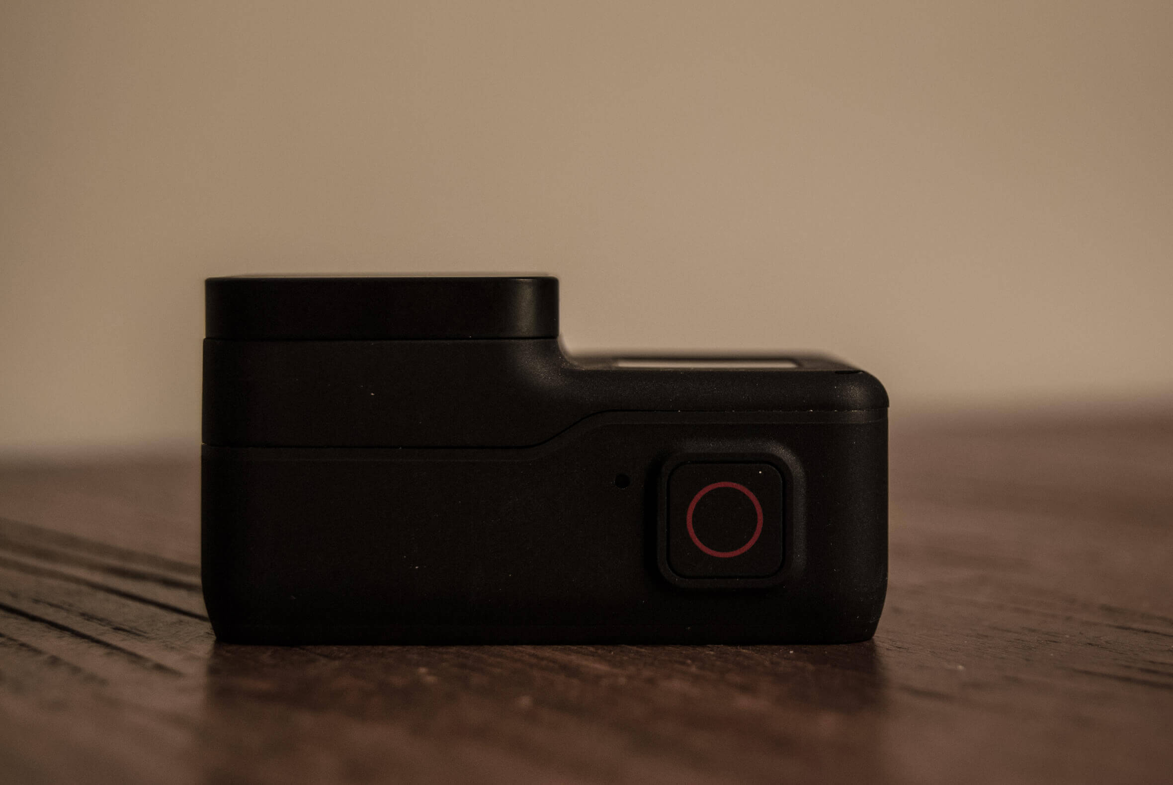 GoPro HERO7 Black Knopf