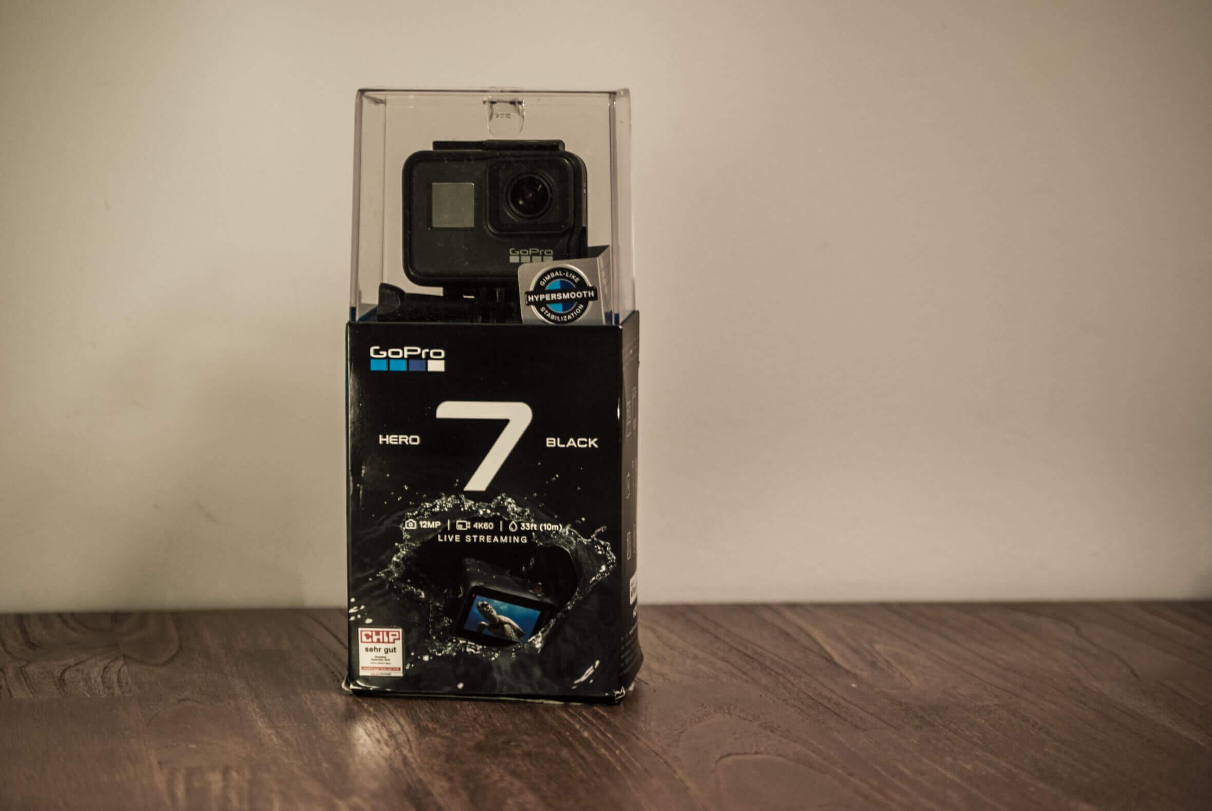 GoPro HERO7 Black Verpackung