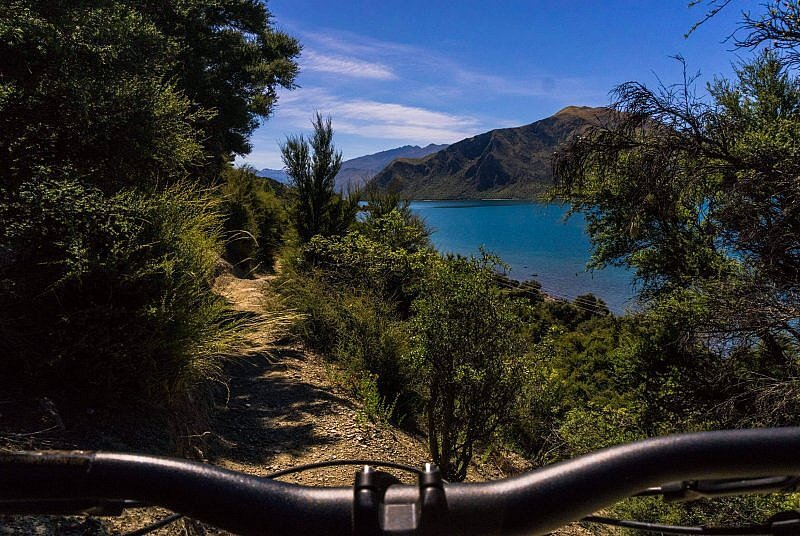 Mountainbiken Lake Wanaka