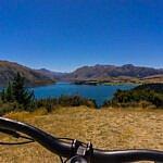Mountainbiken im Sticky Forest Wanaka (Neuseeland)