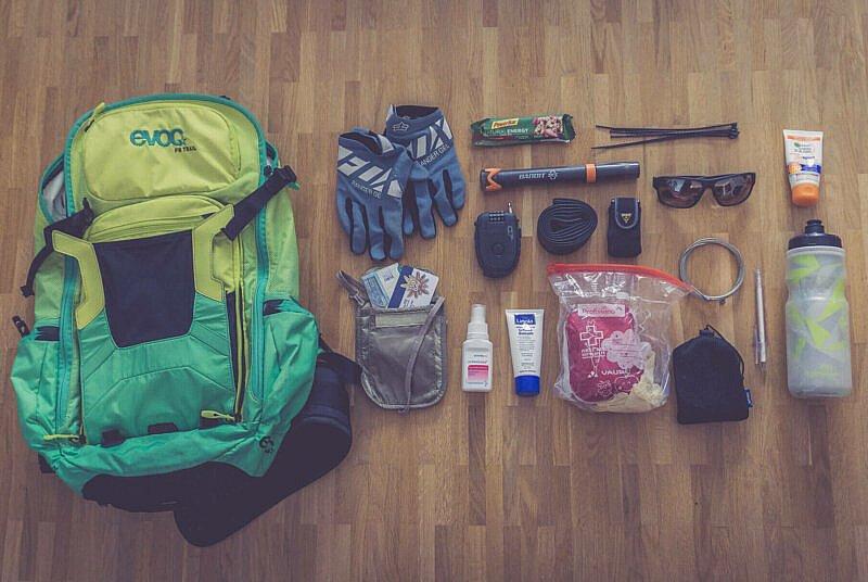 MTB Packliste Tagestour