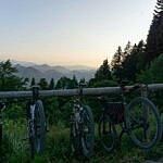 Mountainbike Tour auf die Lenggrieser Hütte