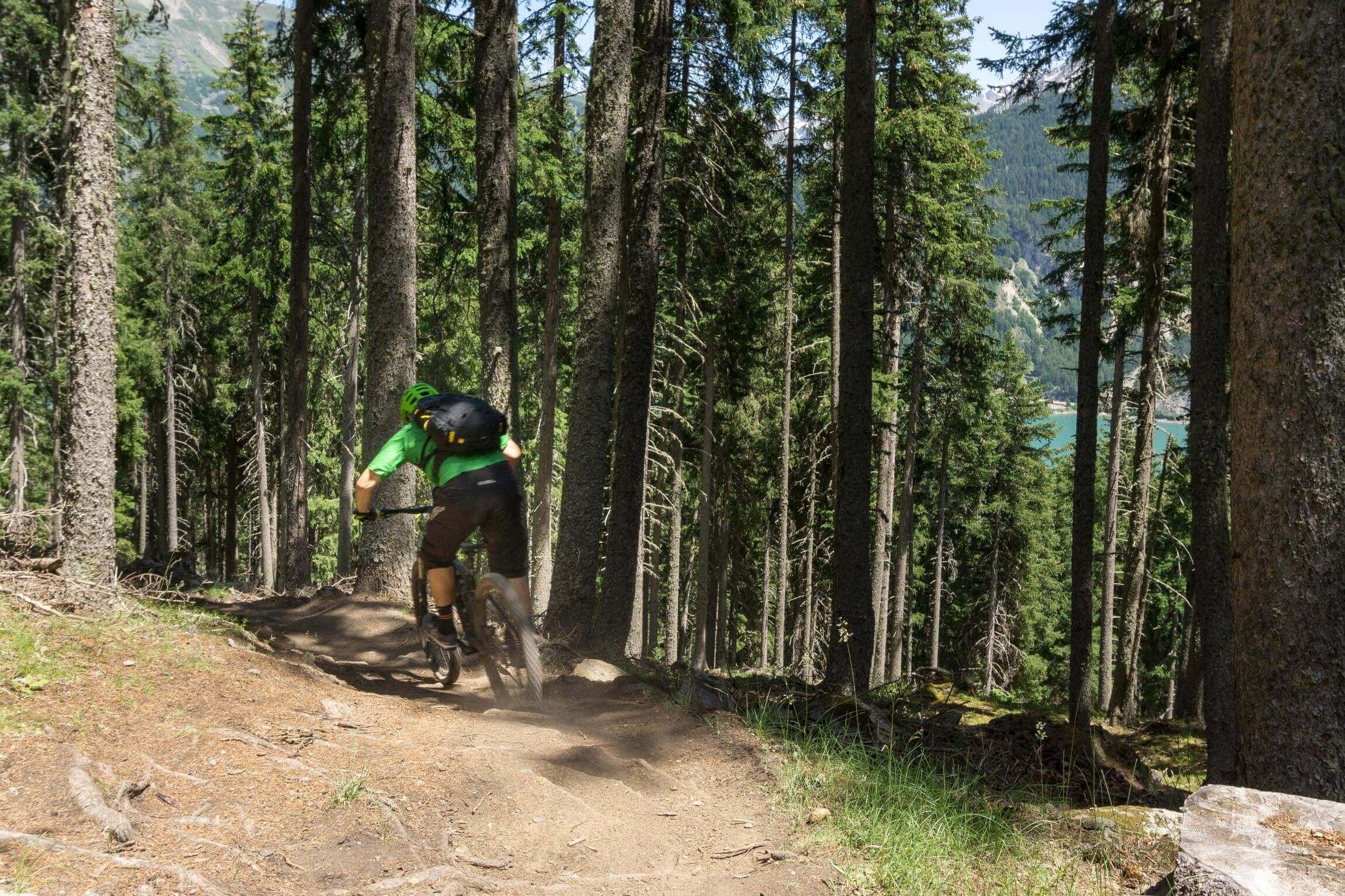 Auf dem Gorf Trail