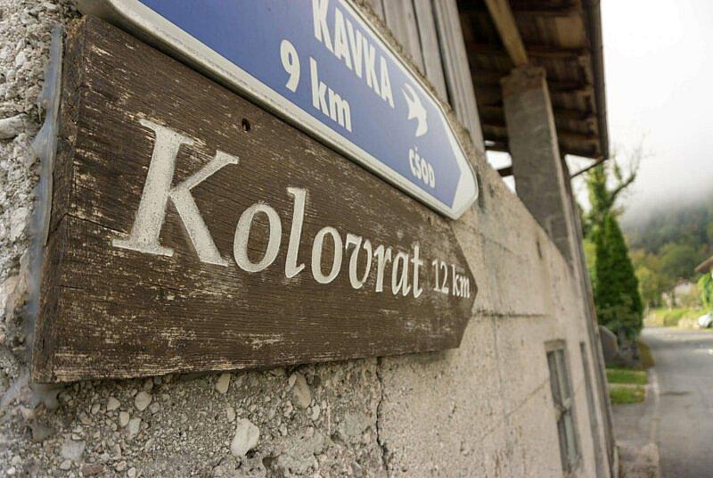 Auffahrt Kolovrat