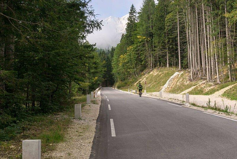 Mit dem MTB auf den Vršič-Pass