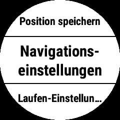 Navigation-Einstellungen Fenix