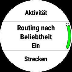 Routing Beleibtheit
