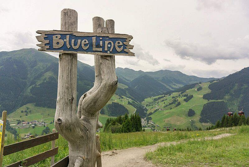 Blue Line Saalbach Hinterglemm