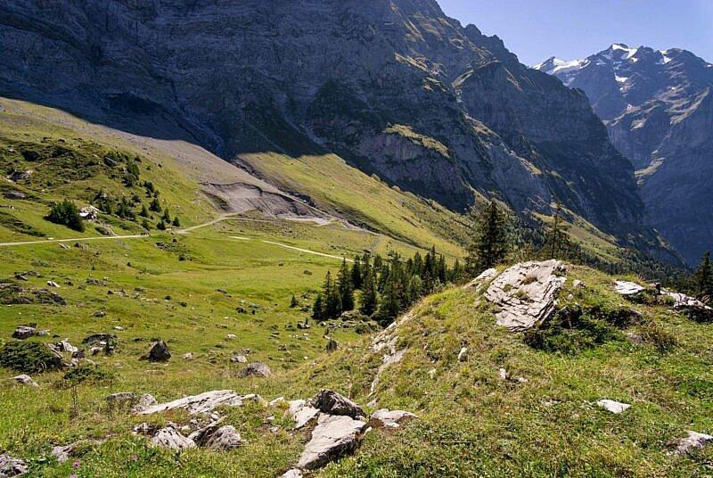 Blick von der Großen Scheidegg