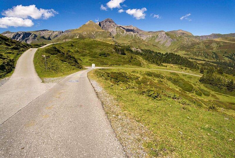 Scheidegg Abfahrt
