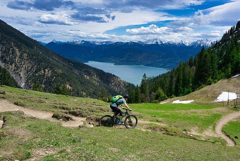 MTB Trail am Walchensee