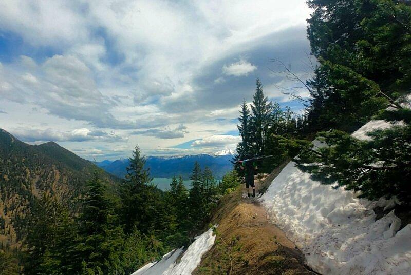 Snakeline Trail Tragepassage